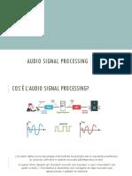 Audio Signal Processing