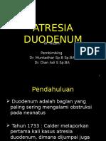 Atresia Duodenum & Jejunoileum Zarli