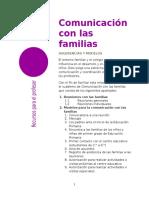 Comunica c i on Familias