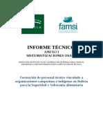 Estudios Agroecologia Bolivia