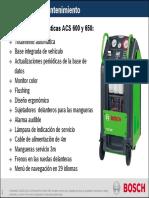 ACS 6xx - MantenimientoES