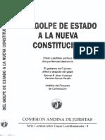 CAJ - Del Golpe de Estado a La Nueva Constitución