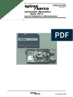 Posicionador Neumático PP5-Instrucciones de Instalación y Mantenimiento