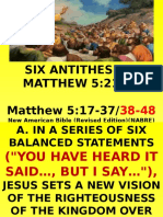 6th ot- six antithesis