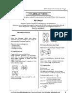 Modul Bimbel Gratis Kelas 8 SMP 8304 Matematika Bab 2 Fungsi