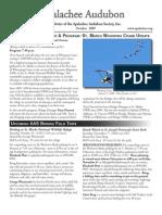 Oct 2009 Apalachee Audubon Society Newsletter