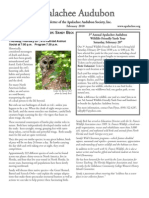 FEB 2010 Apalachee Audubon Society Newsletter