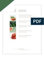Diseño de menu sencillo y util