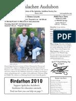 MAR 2010 Apalachee Audubon Society Newsletter