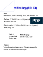 Strutural Metallurgy- Chapter 1