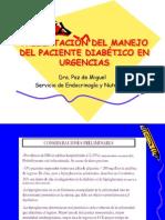 MANEJO DEL PACIENTE DIABÉTICO EN URGENCIAS
