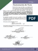 """DETERMINACIÓN DE LOS VALORES HEMATOLÓGICOS, BIOQUÍMICA SANGUÍNEA Y MICROSCOPIA EN CANINOS CON ANEMIA HEMOLÍTICA INMUNO-MEDIADA DE HISTORIAS CLINICAS DEL HOSPITAL VETERINARIO JUAN GRIÑAN-ESPAÑA, DURANTE EL 2007 AL 2012""""."""