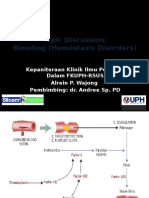 TD Bleeding Disorders ALREIN