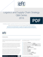 Global Supply Chain Trends - 2016