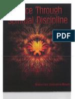 Peace through spiritual discipline by Gurudev Bawra Ji Maharaj