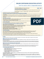 Nutrition and Physical Activity Guidelines for Cancer Survivor