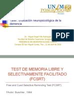 Prueba Fcsrt