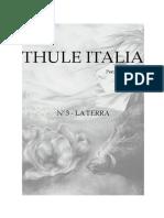 Rivista.thuleItalia Luglio.agosto.settembre.2014
