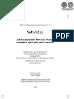 SAKOIAHAN - RELATOS TOBA - ROMERO - KALISCH - UNRUH - VOLUMEN 46 - PORTALGUARANI