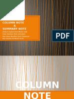 Summary & Column