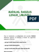 Manual Servidor Radius Linux Ubuntu