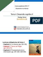 Tema 4_Desarrollo Cognitivo II