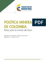 Política Minera de Colombia final.pdf