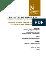 Informe Uvas Frescas Inteligencia Comercial