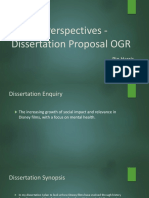 Critical Perspectives -Dissertation Ogr