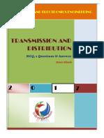 Transmission and Distribution-mcq by Manas Khanda