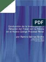 Conducción de la Investigación y Relación del Fiscal con la Policía en el Nuevo Codigo Procesal Penal