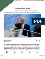 1,8 Millionen Unterschriften Gegen Trump - Tagesanzeiger.ch