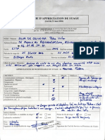 Fiche d'Evaluation EIFFAGE