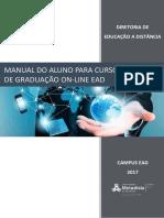 Versão 2017 - Manual Do Aluno Para Os Cursos de Graduação Online Ead