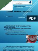 Analiza Chimica a Tescovinei, Domsa Mihai