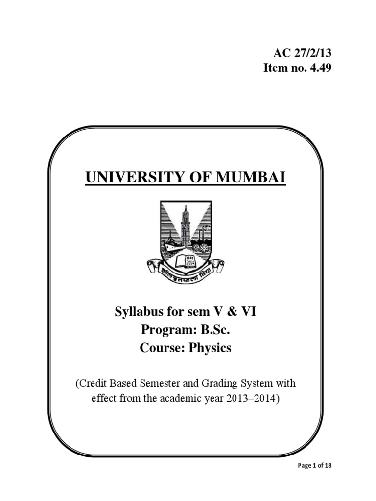 tybsc new syllabus doc