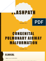 FlashPath - Lung - Congenital Pulmonary Airway Malformation