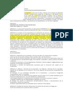 Acta Constituva de Cooperativa Modelo Basico de Ejemplo