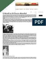 O Brasil Na II Guerra Mundial - HISTORIANET