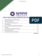 Listare Coş Analize _ Synevo