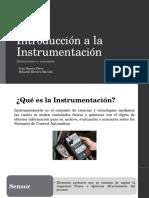 Introduccion a La Instrumentación
