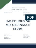 Smart Housing Mix Ordinance Study