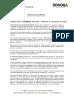 09/12/16 Reciben Internos Del CERESO Hermosillo 1 Certificado de Culminación de Cursos -C.121643