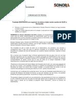 09/12/16 Traslada ISSSTESON Con Urgencia Vía Aérea a Bebé Recién Nacido de SLRC a Hermosillo -C.121641
