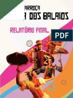relatorio Carroça na Rota dos BalaiosXama