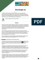 A Importância Da Sociologia Na Administração - Produção Acadêmica - Administradores