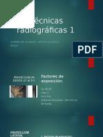 Técnicas radiográficas 1