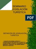 LEGISLACION TURÍSTICA