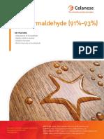 Paraformaldehyde Brochure