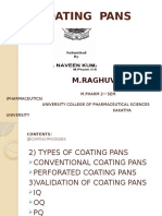 Types of Coating Pans